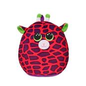 TY Squish-a-Boos rózowy żyrafa - GILBERT, 22 cm - Medium 39296