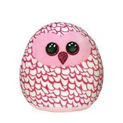 TY Squish-a-Boos różowa sowa - PINKY, 22 cm - Medium 39300