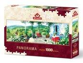 Puzzle 1000 Panorama Romantyczny spacer