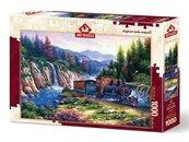 Puzzle 1000 Podróż pociągiem
