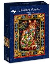 Puzzle 1500 Gobelin z kotem