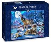 Puzzle 1500 Rodzina wilków