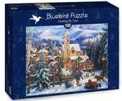 Puzzle 1500 Zabawa na sankach