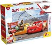 Puzzle Supermaxi 2x12 Auta
