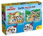 Puzzle MaxiFloor Mickey 2x12