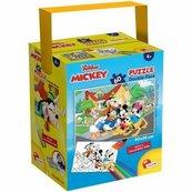 Puzzle Mini 60 w tubie Myszka Miki i przyjaciele