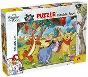 Puzzle dwustronne 24 Kubuś Puchatek i przyjaciele