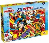 Puzzle 60 dwustronne Myszka Miki i Przyjaciele