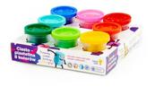 Polesie Dziecięcy zestaw - masa plastyczna Ciasto-Plastelina 8 kolorów