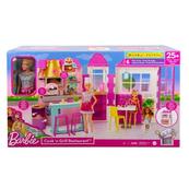 Barbie Restauracja Zestaw + Lalka HBB91 p2 MATTEL