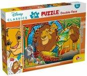 Puzzle dwustronne Plus 24 Król Lew