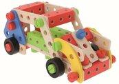 Zabawka drewniana - O!Klocki konstrukcyjne 95 el.