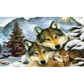 Diamentowa mozaika Wilki, rodzina 1005263