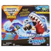 Monster Jam Minis - zestaw wyścigowy z rekinem