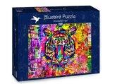 Puzzle 1000 Kolorowy tygrys