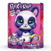 Peek A Roo Interaktywna Panda z Maleństwem