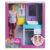 Barbie Ken domowe zajęcia FYK51 p3 MATTEL mix