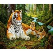 Diamentowa mozaika Tygrysica 1005257