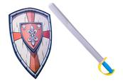 Tarcza rycerska z mieczem 1004260