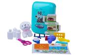 Salon piękności dla zwierząt + piesek, walizka 1003543