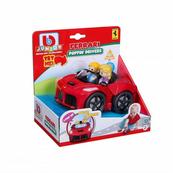 Bburago junior 81006 Ferrari Aperta z figurkami czerwony