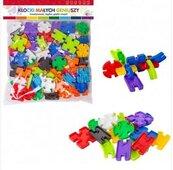 Klocki mini puzzle 92 elementy