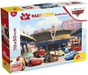 Puzzle podłogowe dwustronne Maxi 24 Disney Auta