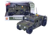 PROMO Auto wojskowe z karabinem na dachu św.dźw. w pud. 1001871
