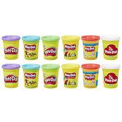 Play-Doh ciastolina tuby 12-pack Classic Color E5891