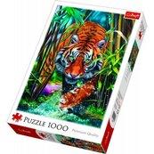 PUZZLE 1000 Drapieżny tygrys 10528