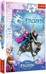 PUZZLE 100 Na ratunek Annie - Frozen
