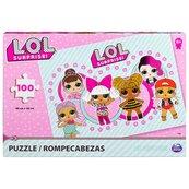 L.O.L Surprise puzzle 100 elementow 6052480