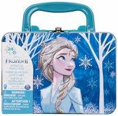 Frozen 2 puzzle 2x24 z metalową walizką 6052989