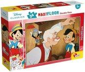 Puzzle podłogowe dwustronne Maxi 24 Disney Classics