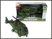 Helikopter wojskowy 28cm św dźw w pud. WY751A