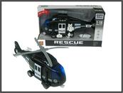 Helikopter plast. Policja 28cm św dźw w pud. WY750C