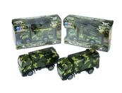 Auto ciężarówka wojskowa 12cm 4 rodzaje z napędem XY253 mix cena za 1 szt
