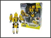 Robot transformer pistolet 25cm w pudełku SB452