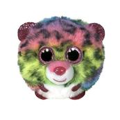 TY Puffies DOTTY - wielokolorowy leopard 42519