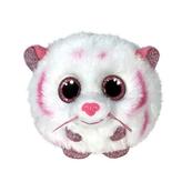TY Puffies TABOR - różowo - biały tygrys 42524