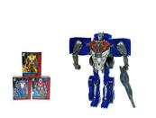 Robot Wojownik 16cm 2w1 3 kolorów 668-9 mix cena za 1 szt