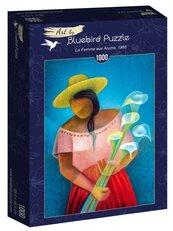 Puzzle 1000 Toffoli, Kobieta sprzedająca kwiaty