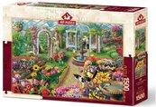 Puzzle 1500 Kwitnący ogród