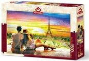 Puzzle 1500 Romantyczny zachód słońca