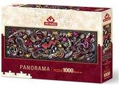 Puzzle 1000 Elementy rytmu (Panorama)