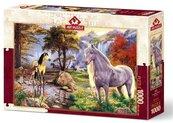 Puzzle 1000 Dzikie konie