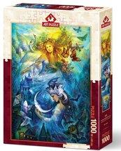 Puzzle 1000 Księżniczka nocy i dnia