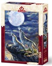 Puzzle 1000 Pełnia księżyca