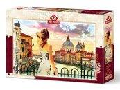 Puzzle 1500 Widok na Wenecję