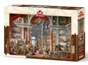 Puzzle 2000 Panini, Galeria z widokiem na Rzym